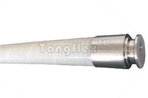 316不锈钢丝增强铂金硫化硅胶管-SCD